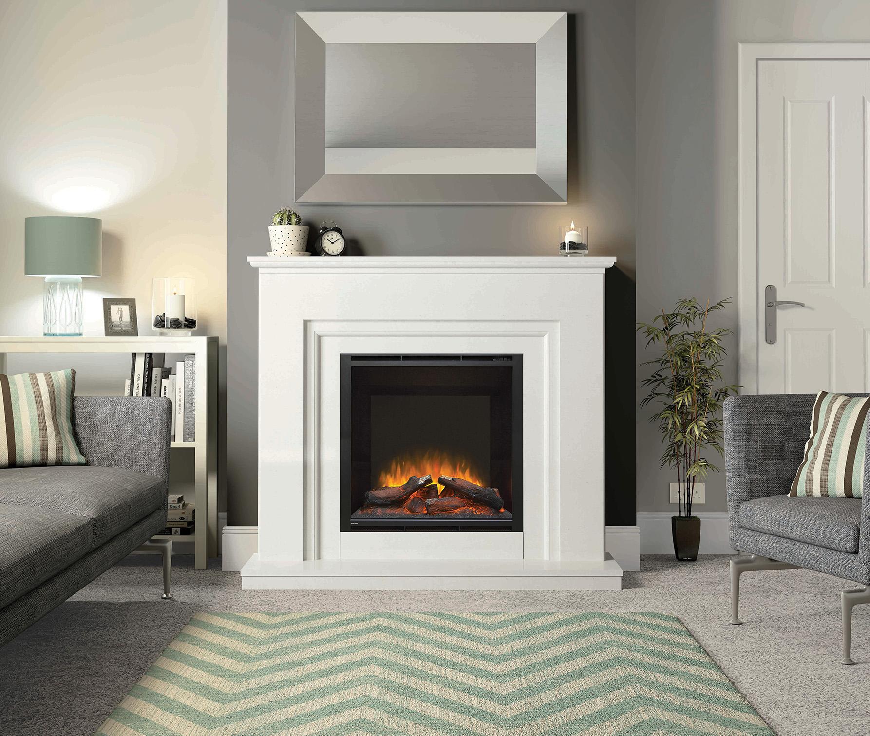 Elgin + Hall Embleton marble electric suite