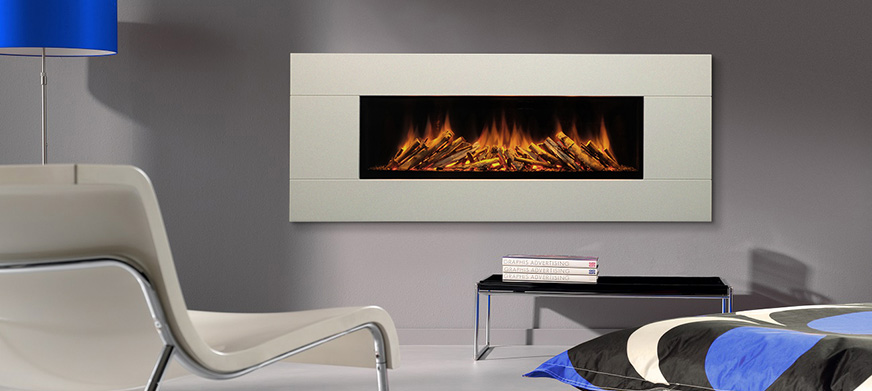 Brill 1300 wall mounted electric fire