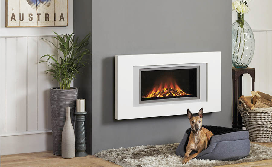 Focus Fireplace Natasha wall mounted electric fire